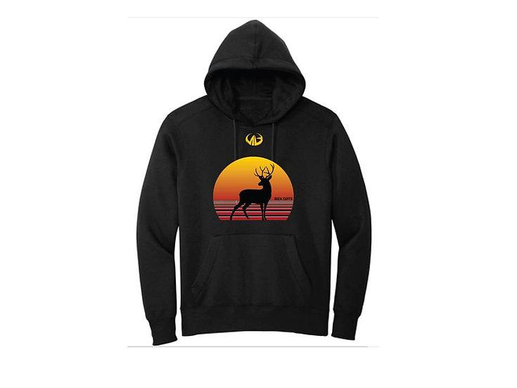 Black Fleece Hoodie- Moneyball Sportswear