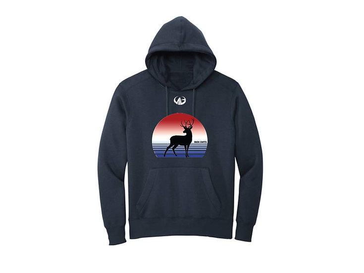 Navy Fleece Hoodie- Moneyball Sportswear