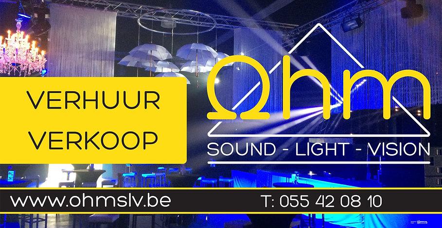 OHM, geluid en licht voor shows, Brakel, sound light vision