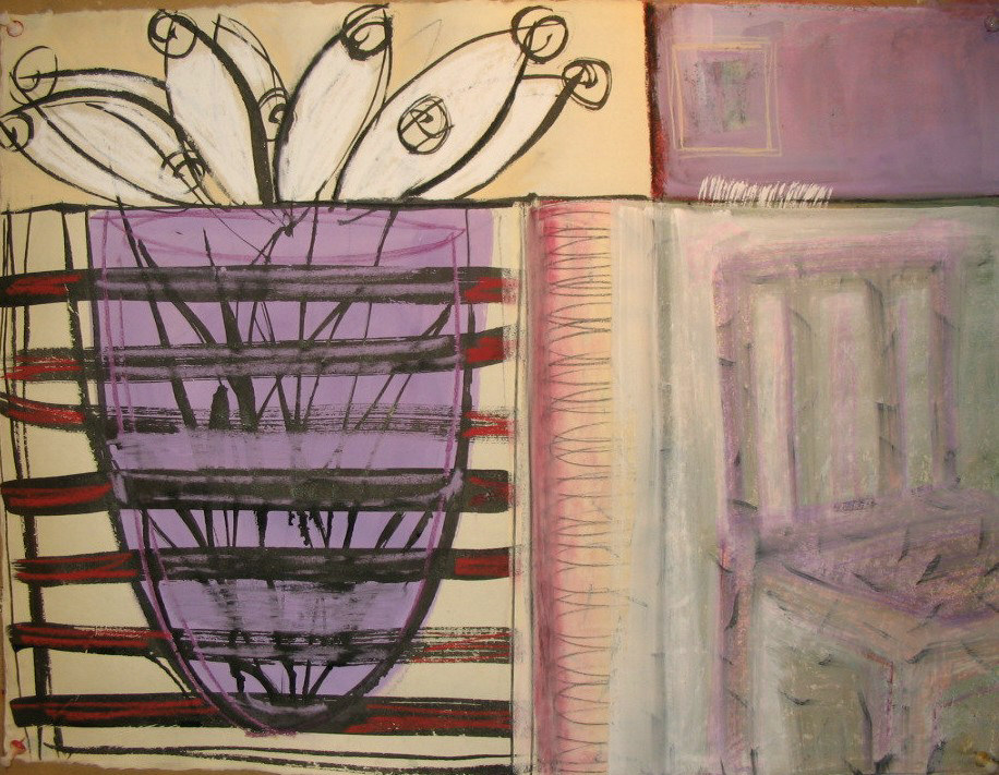 Copy of vase and chair4 17x22 in