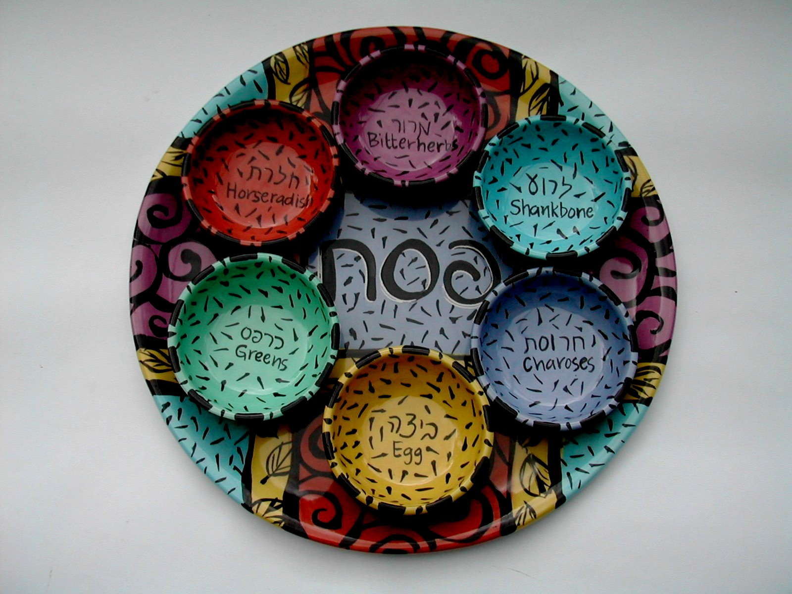 Pesach plate