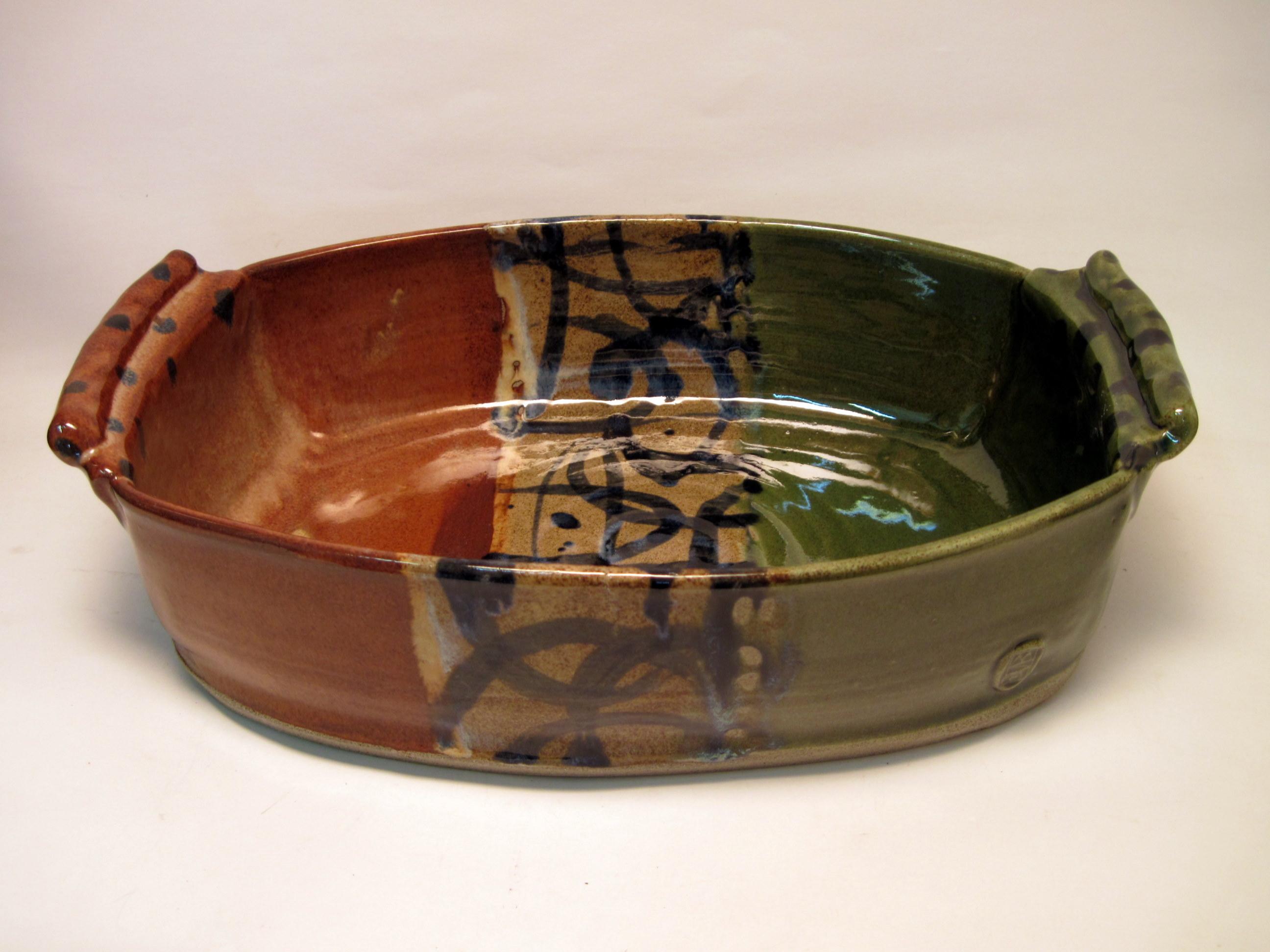 Stoneware cassorole