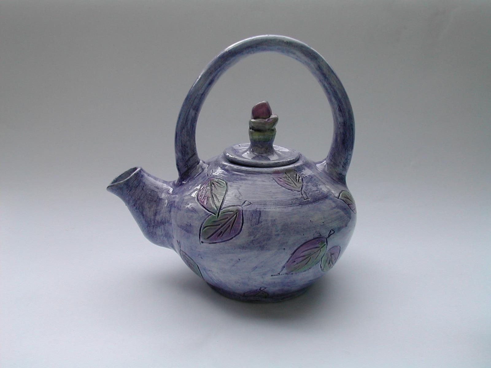 Teapot - cobalt