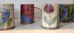 New mugs out of the kiln today