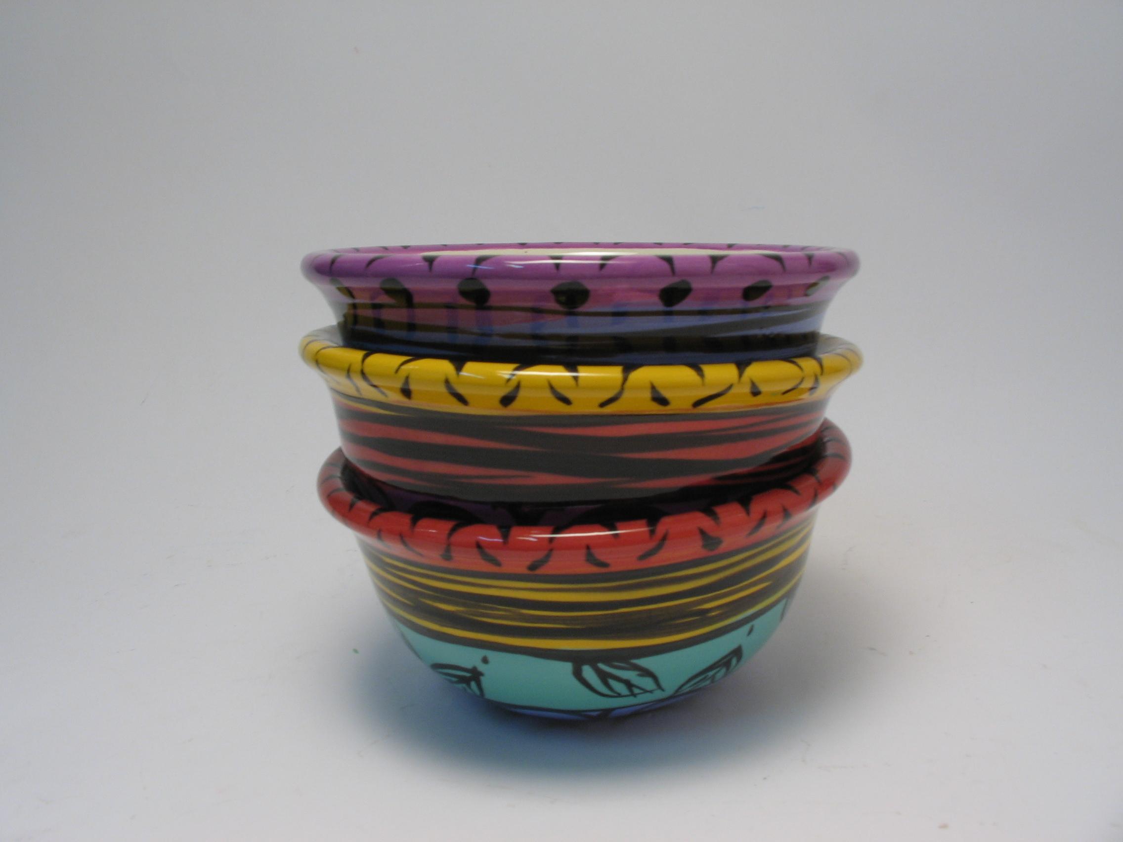 Set of Fiesta bowls