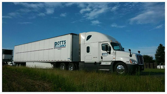 potts transport, potts trucking, potts transport co