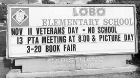 Call for Sponsors to Help Upgrade the Lobo Marquee