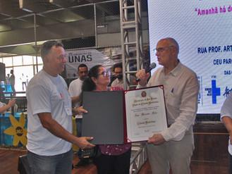 João Miranda recebe título de Cidadão Paulistano durante o 25º Encontro da UNAS
