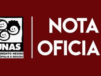 Nota Oficial | 13 de Maio, Dia de luta e não de comemoração.