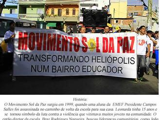17ª Caminhada pela Paz de Heliópolis