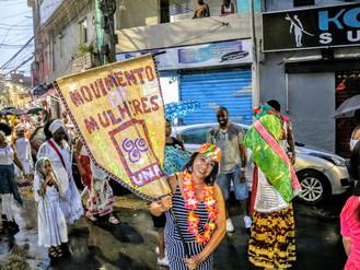 Fólia Feminista leva batucada e reivindicação das mulheres as ruas de Heliópolis