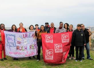 Movimentos de base da UNAS participam do 5º Encuentro Nuestra América no Chile