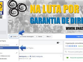 Acompanhe nossas ações e projetos no facebook