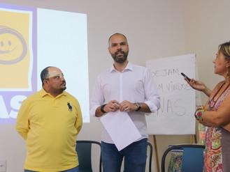 Bruno Covas se compromete com pauta de reivindicações para Heliópolis e região em visita à UNAS
