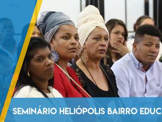 Educação comprometida com a garantia de direitos das pessoas é debatido em Seminário de Heliópolis