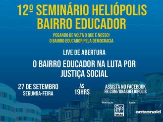 12º Seminário Heliópolis Bairro Educador