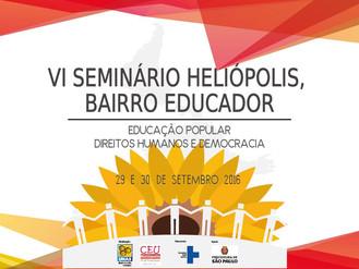 VI Seminário Heliópolis Bairro Educador