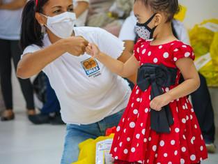 UNAS realiza campanha de natal e leva solidariedade a quase 5 mil crianças