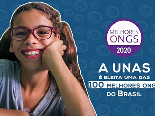 UNAS é eleita uma das 100 melhores ONGs do Brasil de 2020