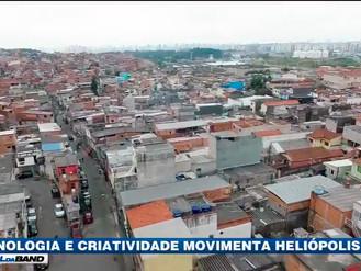 Tecnologia e criatividade movimentam a favela de Heliópolis