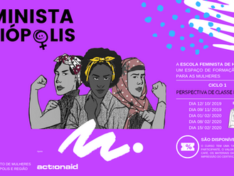 A Escola Feminista Heliópolis está com inscrições abertas para ciclos de formação para mulheres