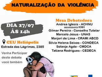 Projeto de prevenção à violência contra crianças e adolescentes promove debate sobre o tema em Helió
