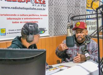 Em entrevista a Rádio Comunitária Heliópolis, Edi Rock fala sobre o novo álbum solo e os 30 anos de