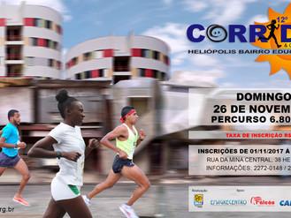 Participe da 12ª Corrida e Caminhada de Heliópolis