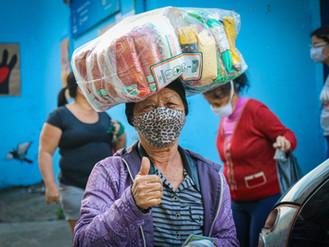 Em 16 meses de pandemia, a UNAS já doou mais de 60 mil cestas básicas