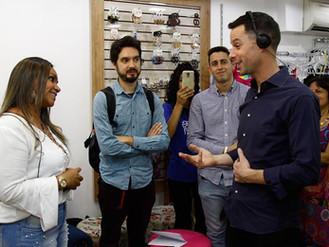 Vice-Presidente de Empreendedorismo do Facebook visita Heliópolis