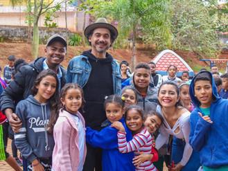 Exposição de Eduardo Kobra desembarca em Heliópolis