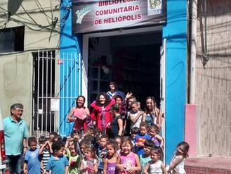 Venha Conhecer a Biblioteca Comunitária de Heliópolis.