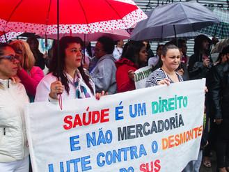 Moradores de Heliópolis exigem a imediata abertura da nova UBS Sacomã e da UPA 24hs