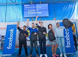 Projeto Facebook na Comunidade premia app criado em Heliópolis