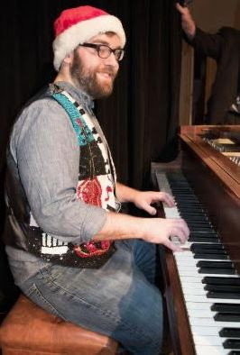 Will Buck, the Musical Director and Accompanist.