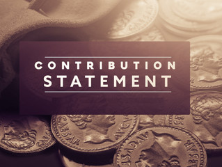 2020 Contribution Statements
