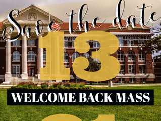 Welcome Back Mass