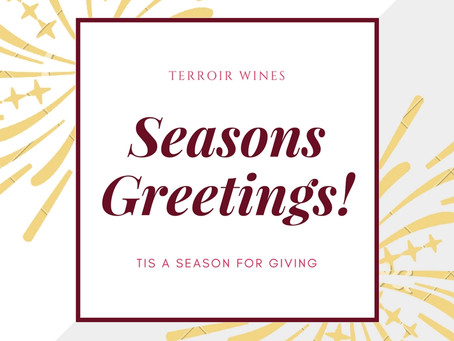 Seasons Greetings! Tis a Season for Giving