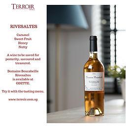 Enjoy Terroir Wines at Restaurants!