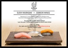 Sushi Murasaki X Terroir Wines
