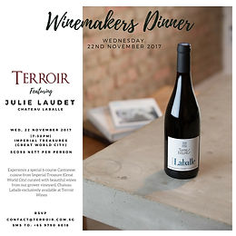 Château Laballe - Winemakers Dinner