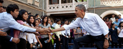 We managed the conferences of Barack Obama at St. Xaviers College Mumbai.