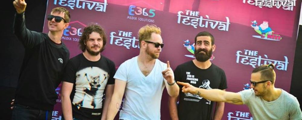Karnivool graced THE Festival.