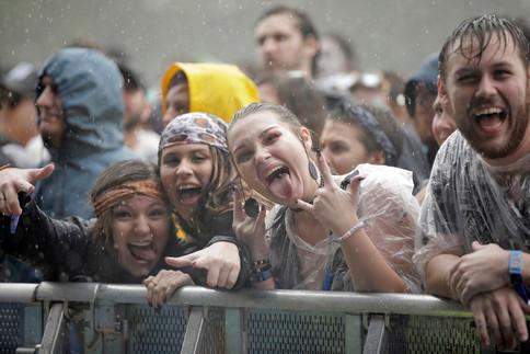 Voo Doo Fest Fans