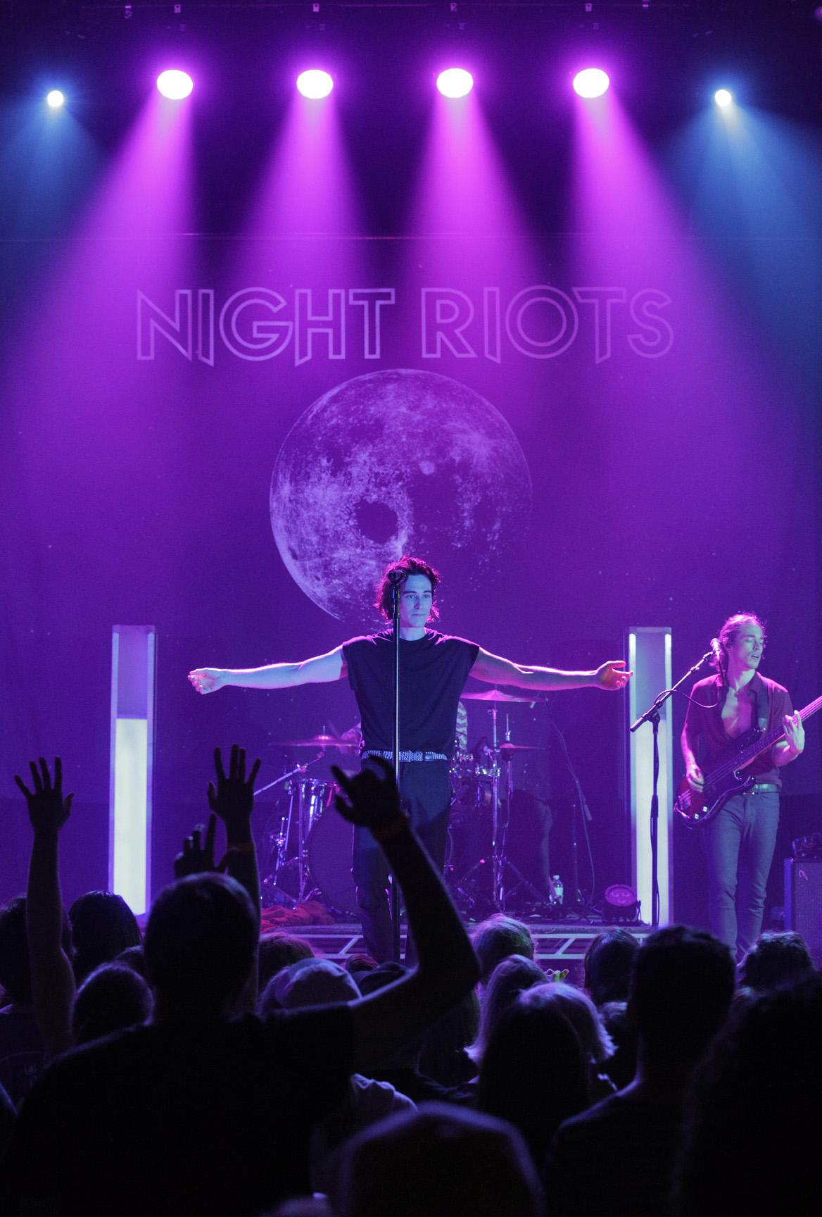 Night Riots, Delmar Hall, STL
