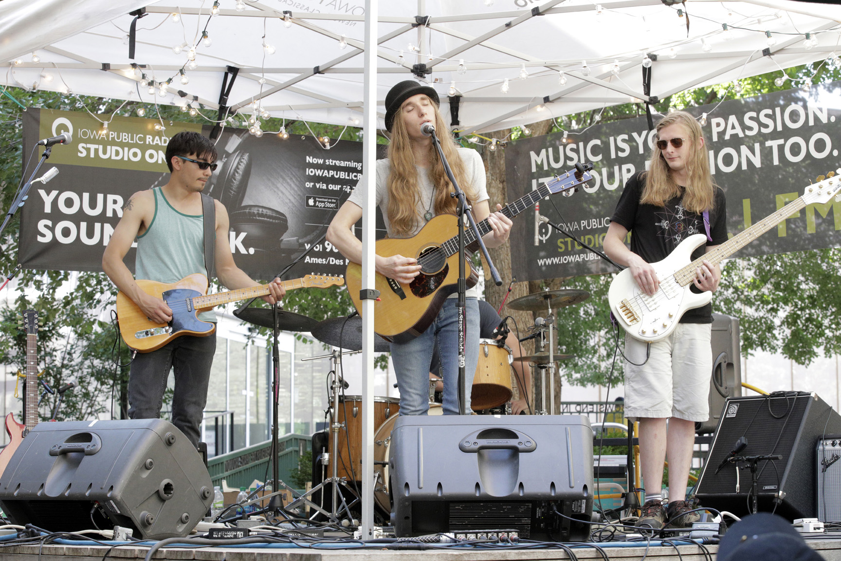 Sawyer Fredericks, 80/35 Festival