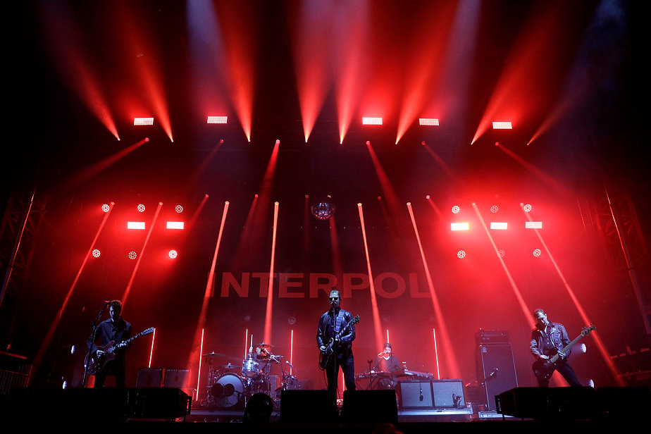 Interpol at 2019 Voodoo Festival