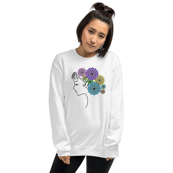 Jane Floral Mandala Sweatshirt