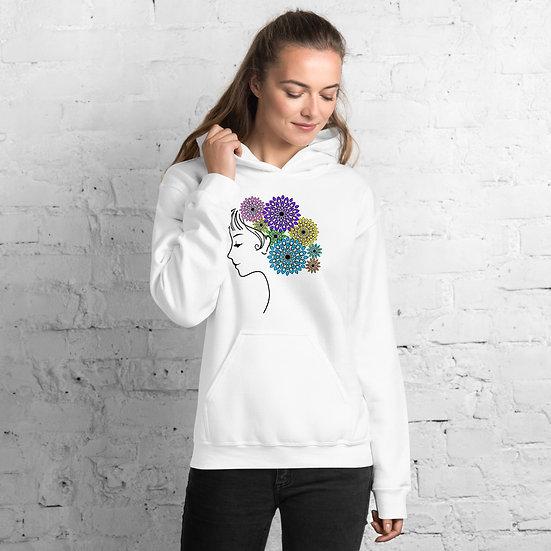Jane Floral Mandala Hoodie
