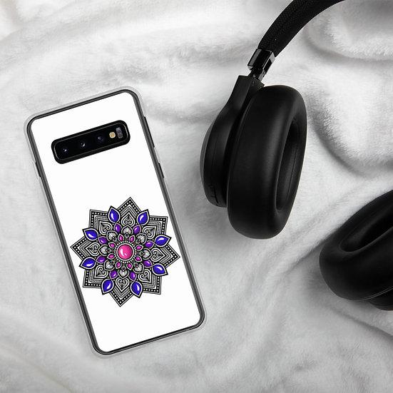 Pink-Blue color gradient Samsung Case